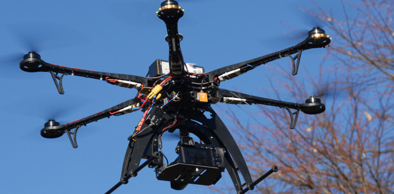 Luftaufnahmen mit Fotocopter
